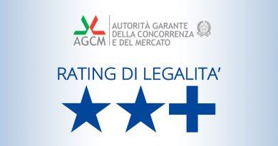 """Al via il premio """"Rating di legalità nella Pubblica amministrazione"""""""