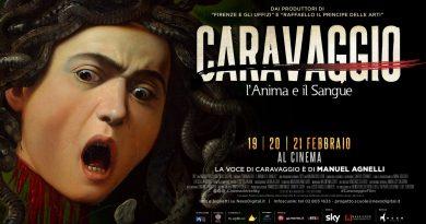 Cinema: Caravaggio sul grande schermo con la voce di Manuel Agnelli