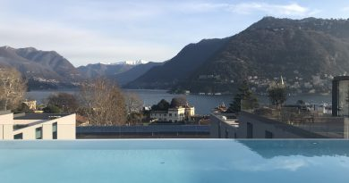 Spring is in the air: apre il rooftop di Hilton Lake Como