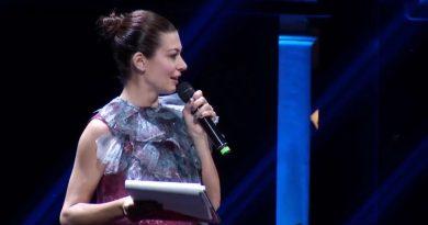 Roberta Lanfranchi conduce la notte degli Oscar di Italia Travel Awards 2018