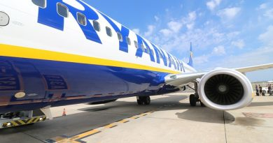 """Ryanair prima compagnia aerea a ricevere il sigillo """"Ok Codacons"""""""