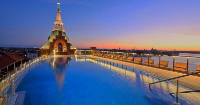 Hilton Molino Stucky: top of Venice